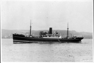 Yunnan, 1934-1959. First ship involved in Papua New Guinea Trade. (c) John Swire & Sons, Ltd