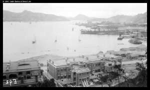 Photography by Warren Swire of Hong Kong Harbour, 1923 (c) John Swire & Sons, Ltd