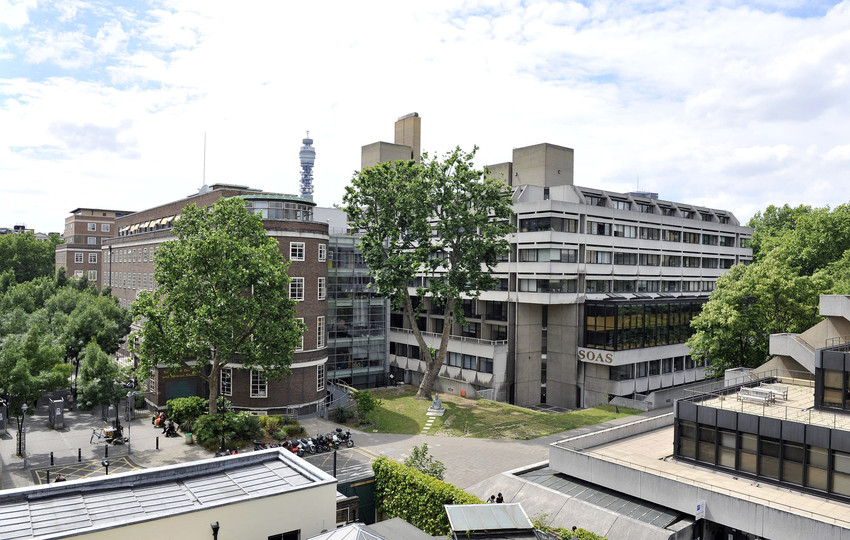 SOAS College Building and the later Philips Building