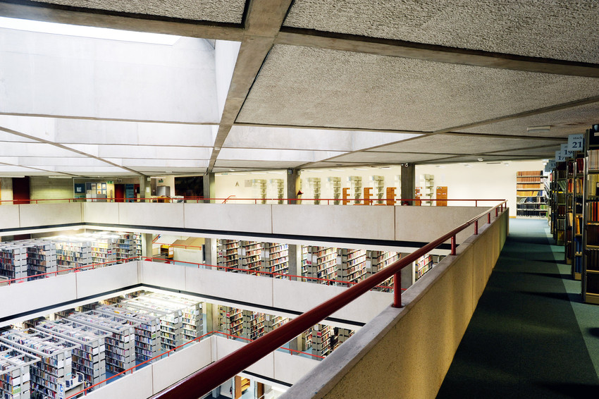 'Particularly satisfying' - SOAS Library interior