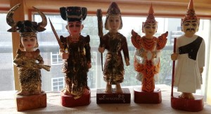 objects from the Southeast Asian folk art collection