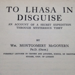 McGovern's record of his journey