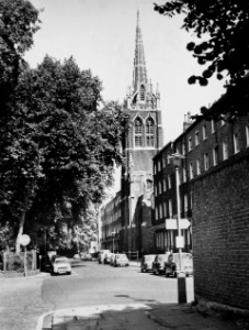 Christ Church Woburn Square 1960s
