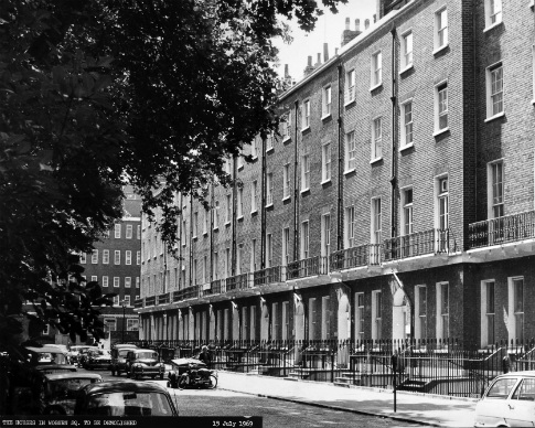 Terraces before demolition, 1969