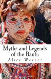 Myths and Legends of the Bantu, book cover