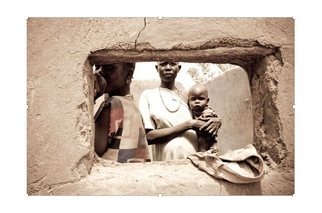 The Dinka, Akot, South Sudan, 2010. Photograph by Benjamin Dix.