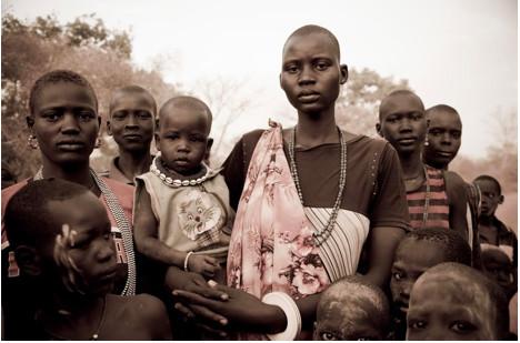 Dinka, Rumbek, South Sudan, 2010. Photograph by Benjamin Dix.
