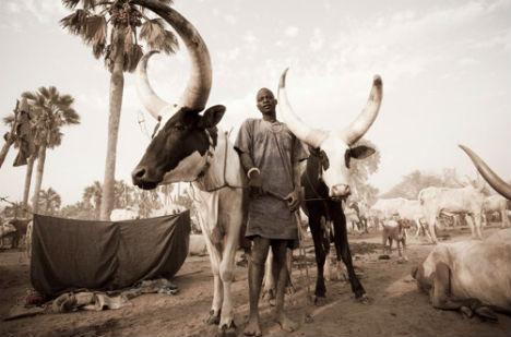 The Dinka, Rumbek, South Sudan, 2010. Photograph by Benjamin Dix.