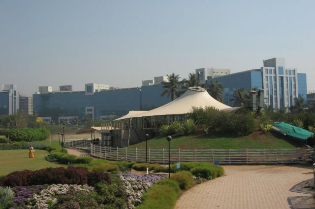 Cybercity IT Park in Pune, India. Photo: Wikipedia