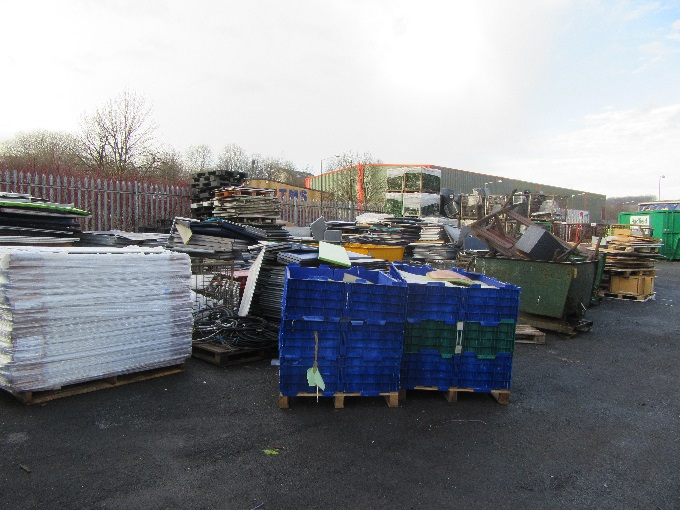 As well as recycling their own waste, The Senator Group recycling plant is also open to the local community