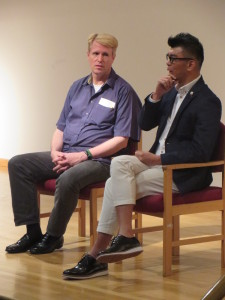 London-Prof Chris Berry hosting dialogue session with Royston Tan (1)