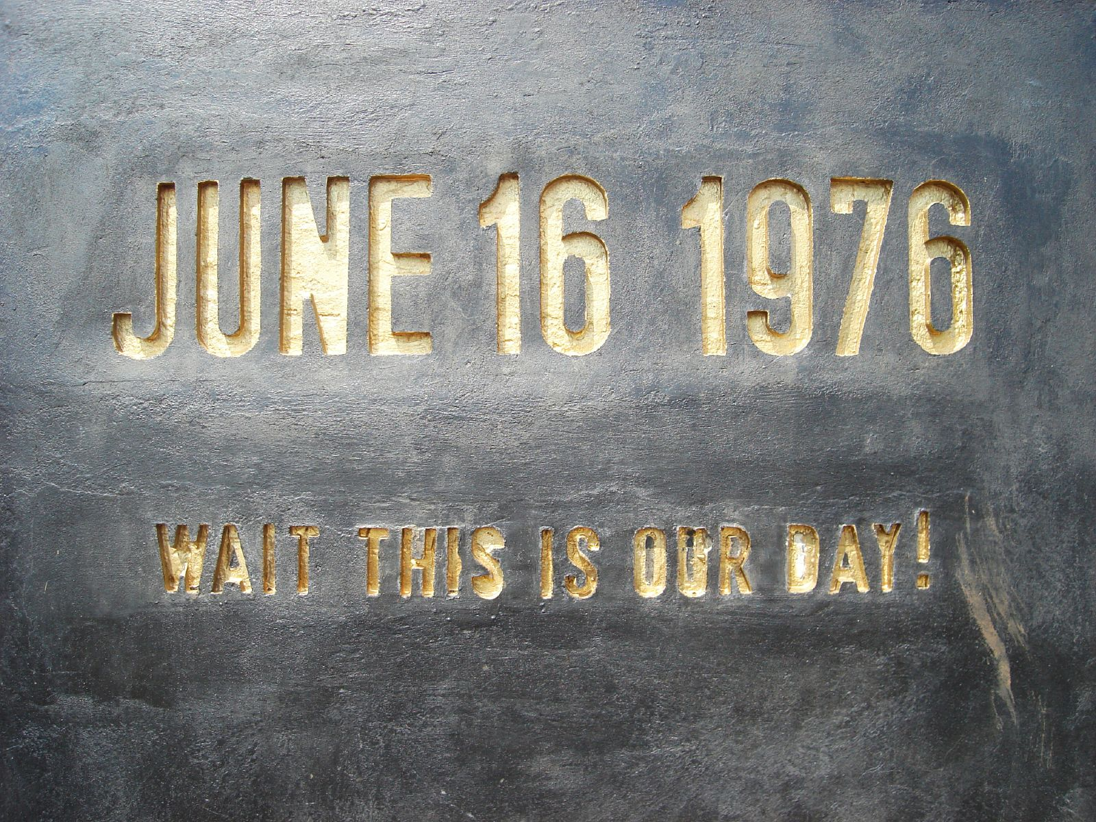 June 16, 1976: the Soweto Uprising